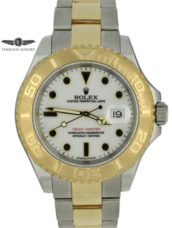 2014 Rolex yacht-master 16623 steel & 18k gold 40mm