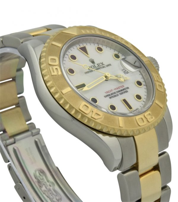 rolex yachtmaster 16623 steel & gold 40mm