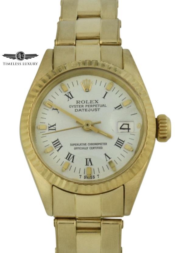 1969 rolex president 6916 26mm 18k gold