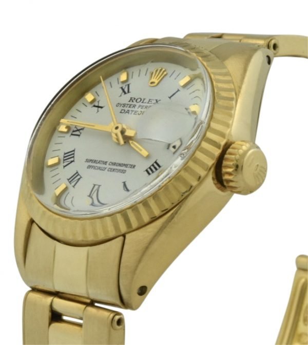 ladies rolex president 6916 18k gold