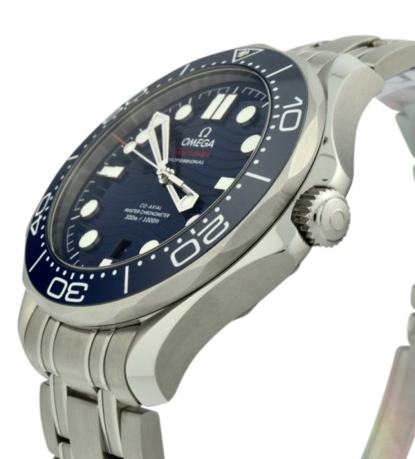 omega seamaster diver blue dial watch