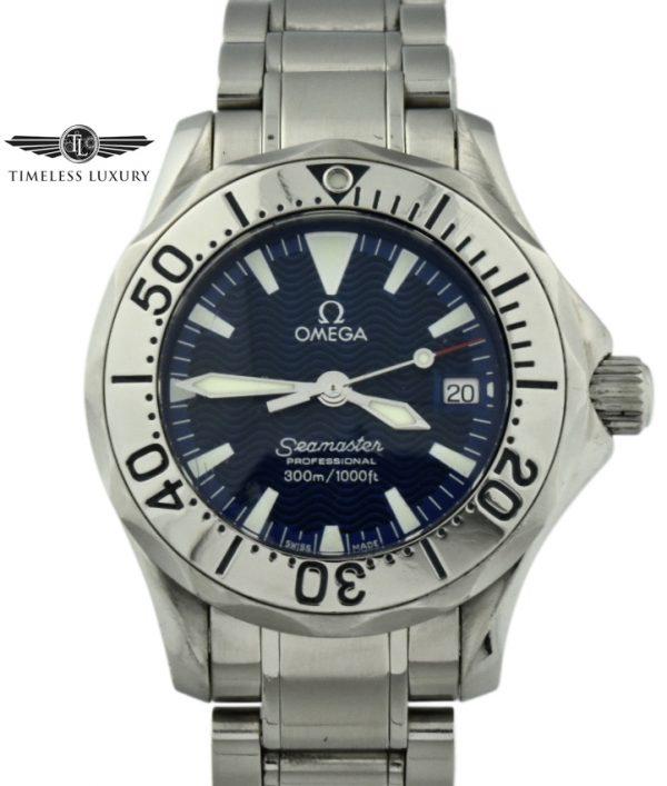 ladies omega seamaster 2285.80.00