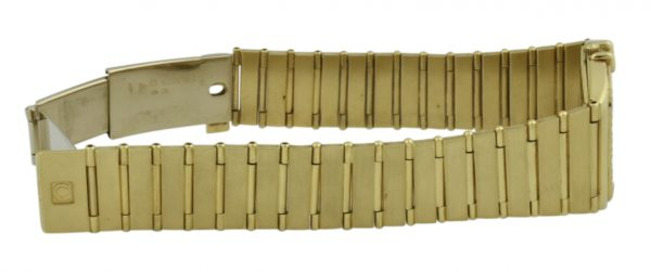 omega constellation gold band