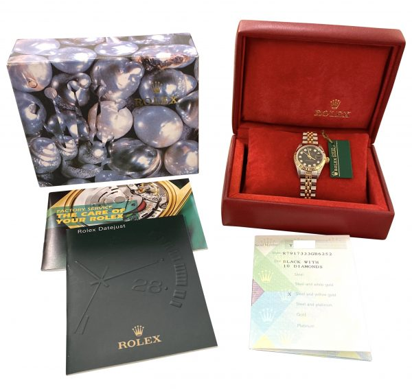 2002 ladies rolex datejust 79173