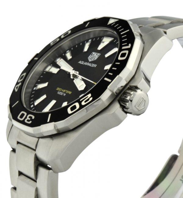 Men's TAG Heuer Aquaracer 300m Black dial way111a