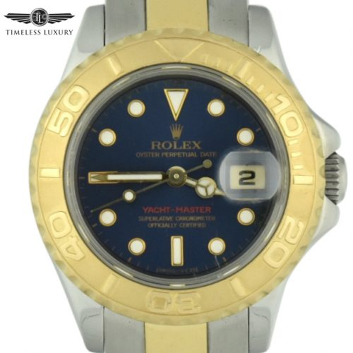 ladies rolex yacht-master 69623 blue dial