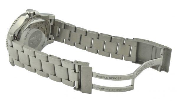 breitling superocean II steel band