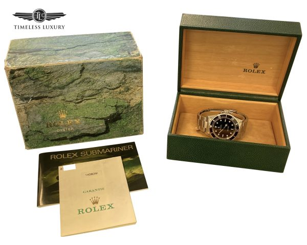 2001 Rolex submariner No date 14060M For sale