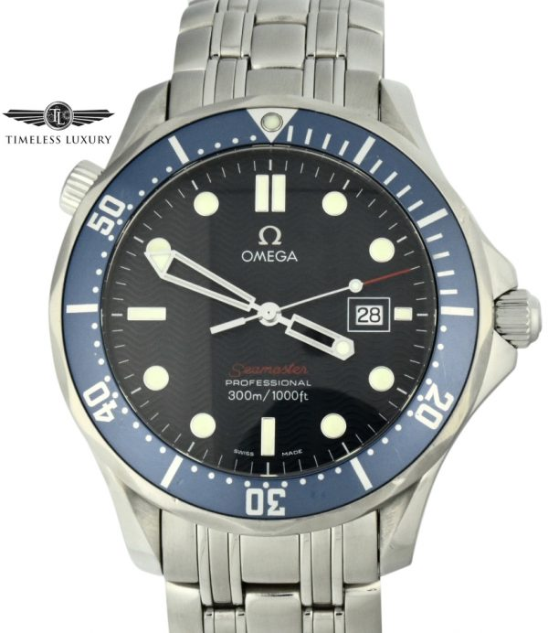 Omega seamaster 300m bond watch