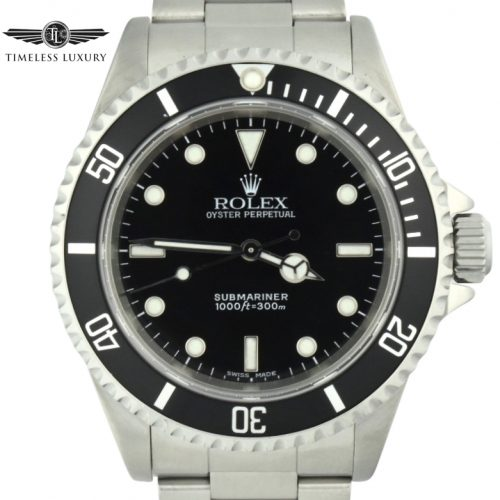 2001 Rolex Submariner 14060M For sale
