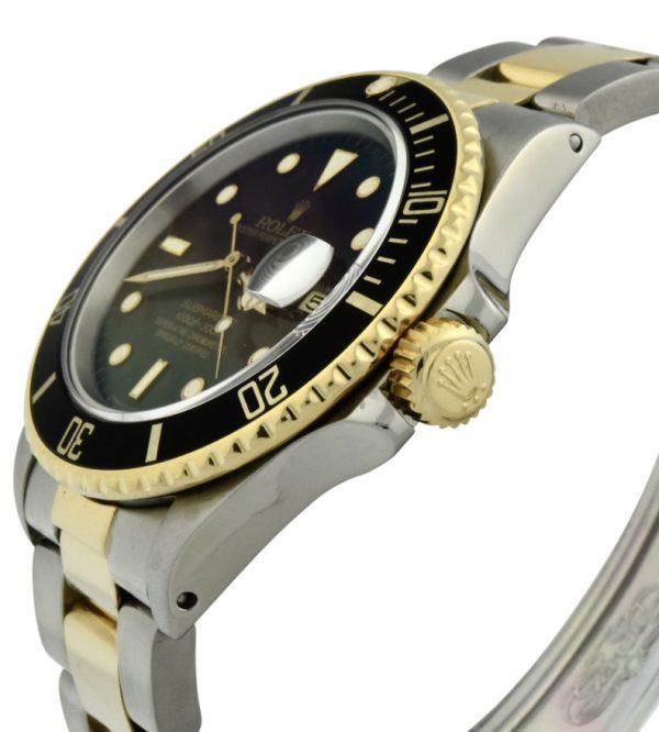 rolex submariner 16803 black dial