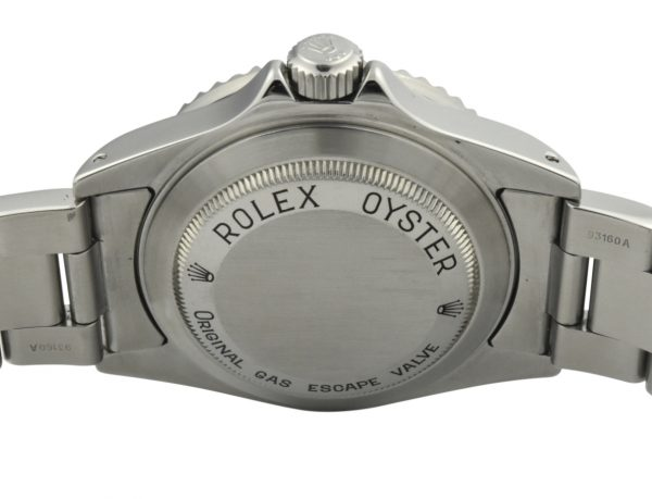 rolex sea-dweller 16600 case back
