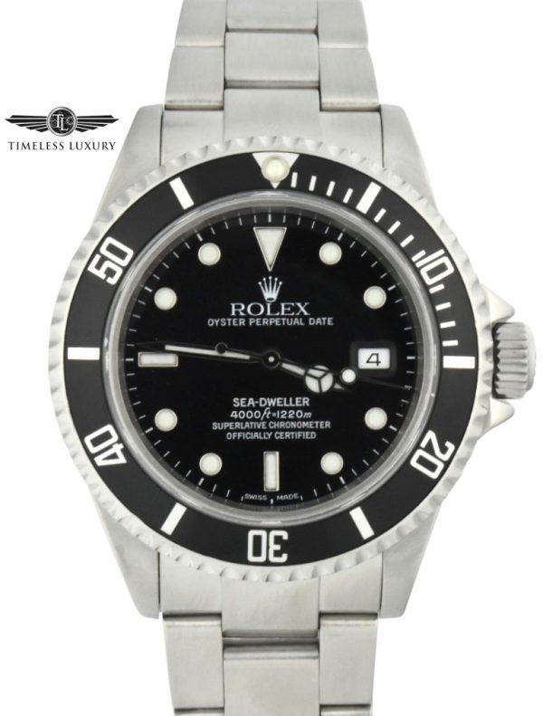 1999 Rolex Sea-Dweller 16600