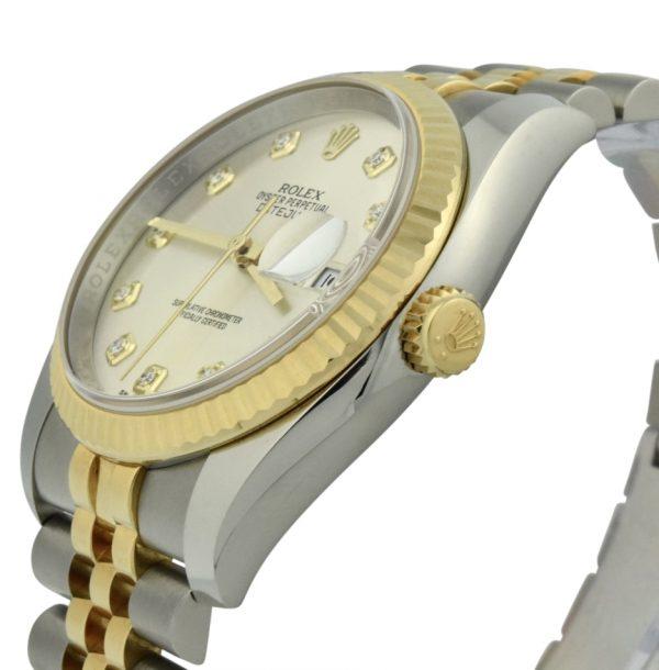 rolex datejust 116233 36mm diamond dial