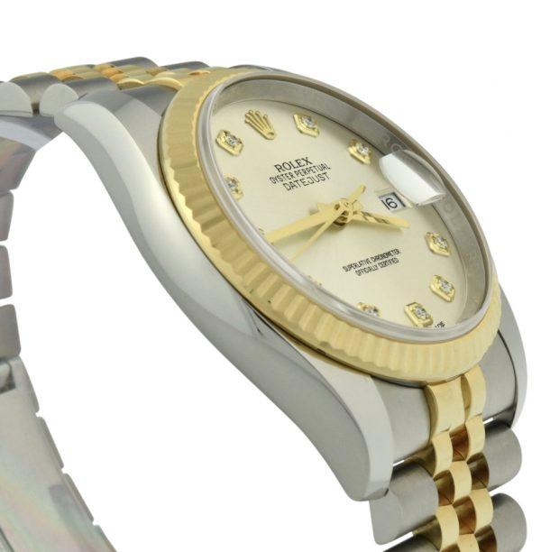 rolex datejust 116233 diamond dial