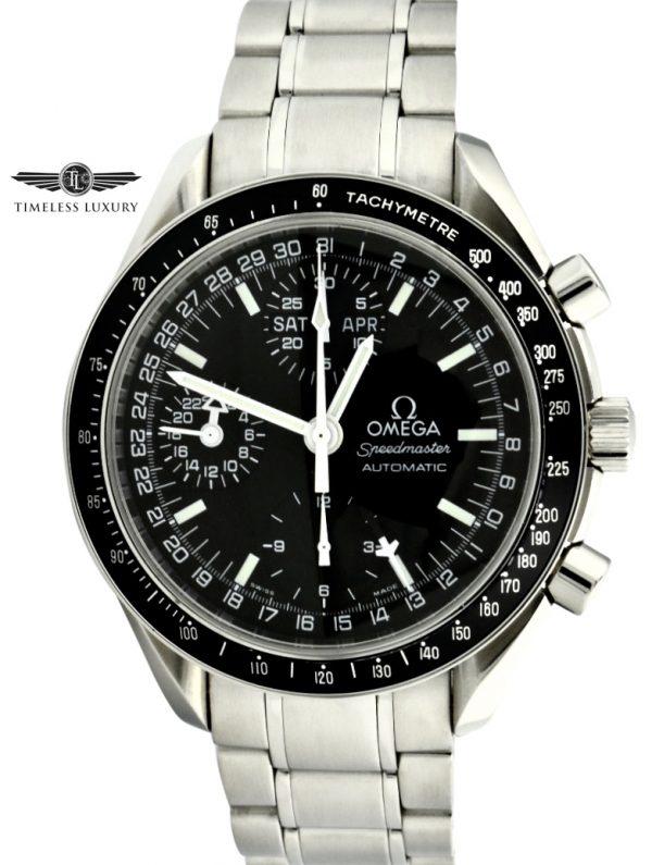 OMEGA Speedmaster day-date 350.50 black dial 39mm