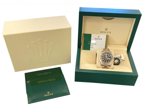NEW Rolex GMT-Master II Rootbeer 126711chnr