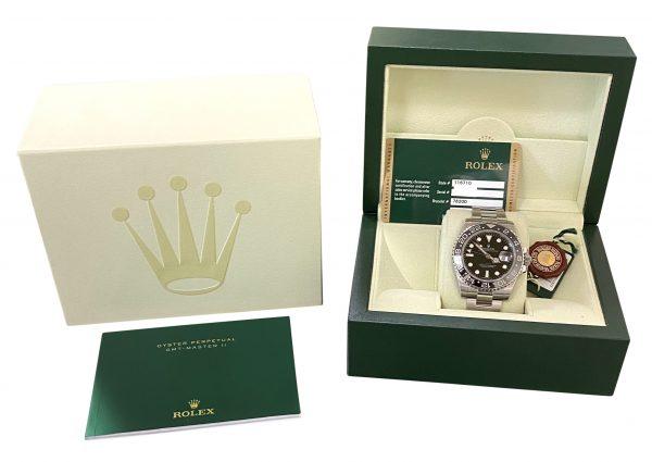 2011 Rolex GMT-Master II 116710LN Black Bezel for sale