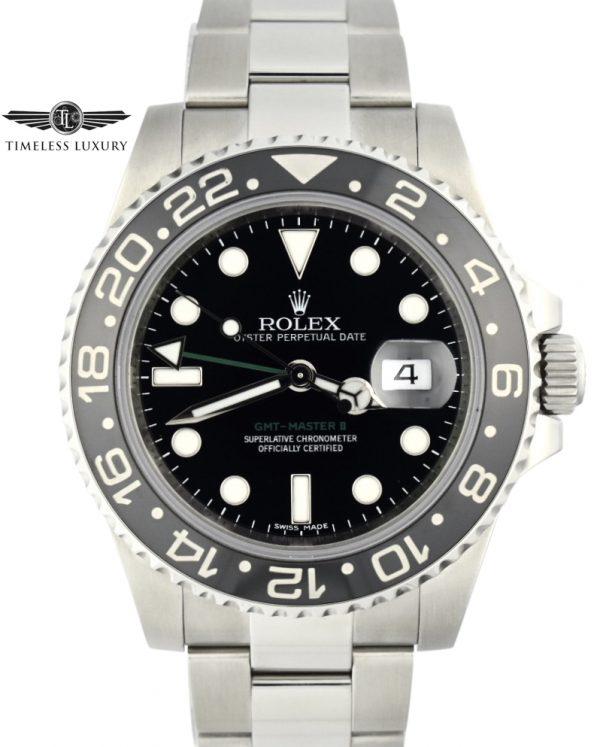 2011 Rolex GMT-Master II 116710