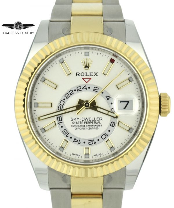 Rolex Sky-Dweller 326933 White Dial For Sale