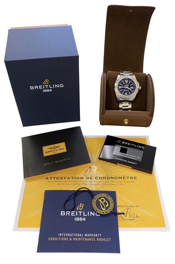 IMG 0224 600x906 - Breitling Colt Quartz
