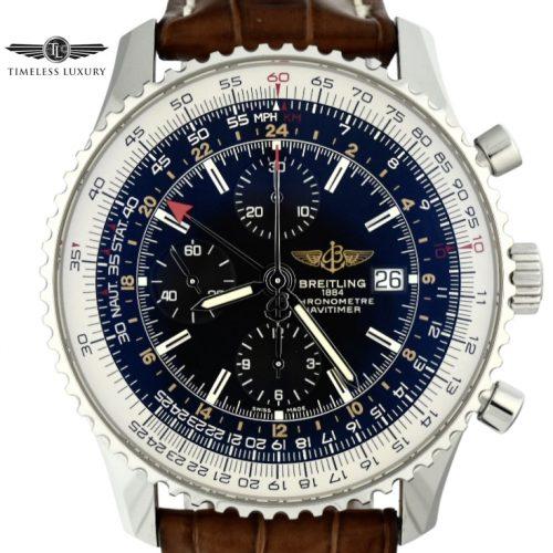 Breitling Navitimer World GMT A24322