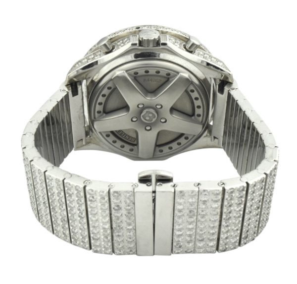 Breitling Bentley A44362 Custom Diamond Watch