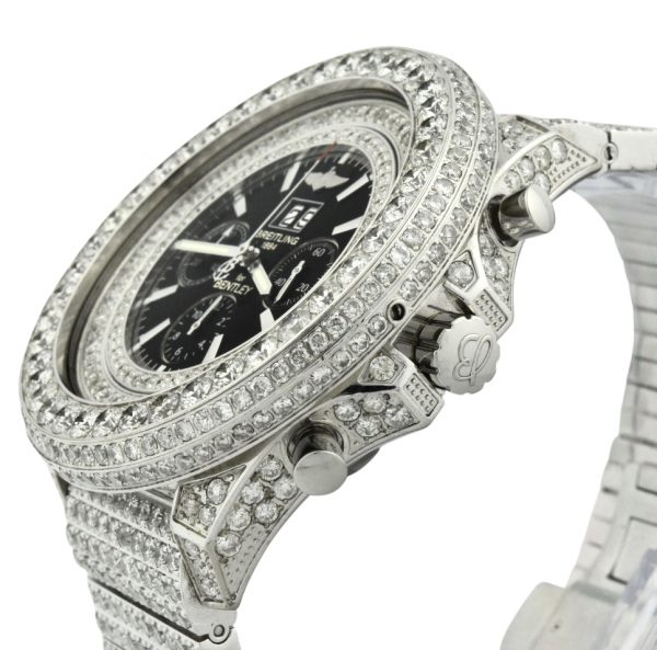 Custom Diamond Breitling For Sale
