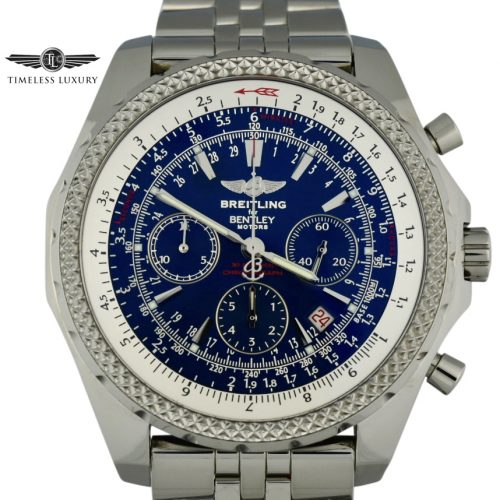 Breitling Bentley a25362 blue dial