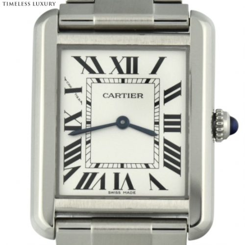 Ladies Cartier Tank Solo Small