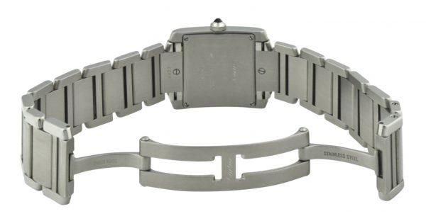 Cartier Tank Case Back 2465