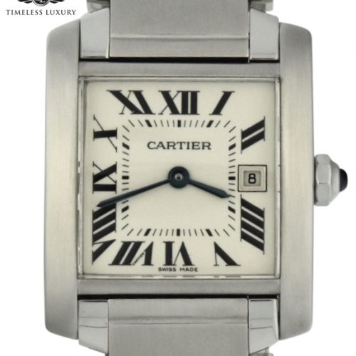 Ladies Cartier Tank Francaise Midsize 2465