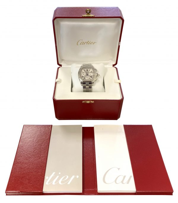 IMG 0432 600x687 - Cartier Roadster XL Chronograph