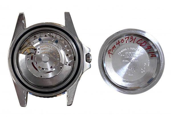 Rolex GMT-master 1675 movement