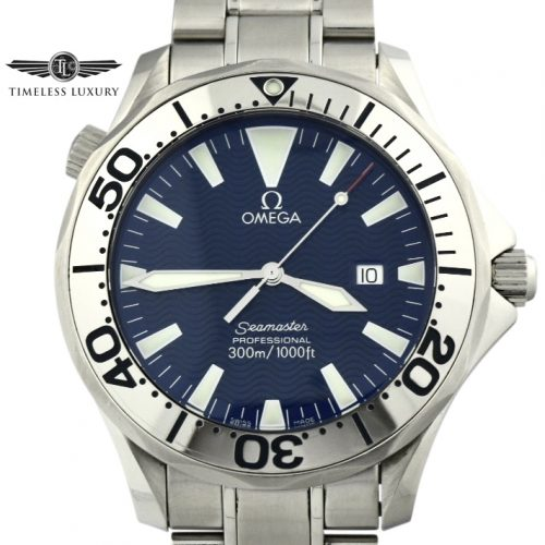 Men's Omega Seamaster 300m 41mm quartz watch