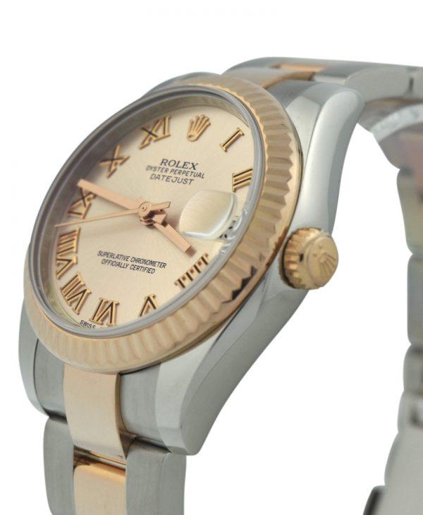 Ladies Rolex Datejust 31 Pink dial