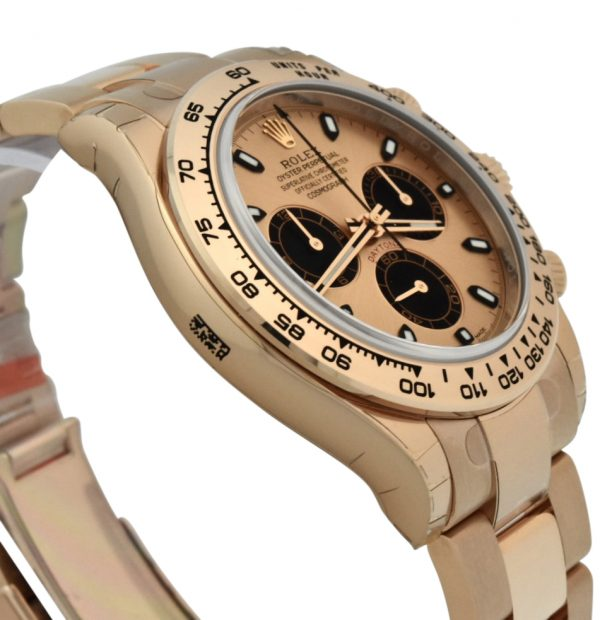 rolex Daytona 116505 rose gold pink dial