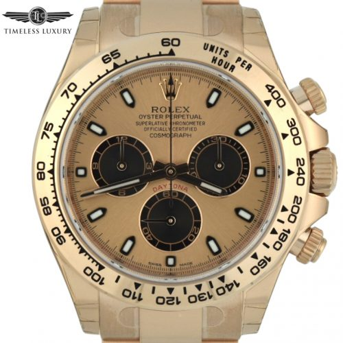 New Rolex daytona 116505 18k rose gold