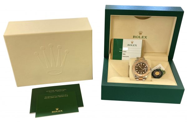 2019 Rolex Yacht-Master 116621 Brown Dial For Sale