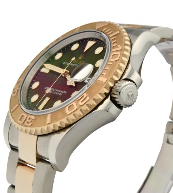 rolex yacht-master 116621 steel & rose gold