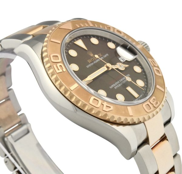 rolex yacht-master 116621 brown dial