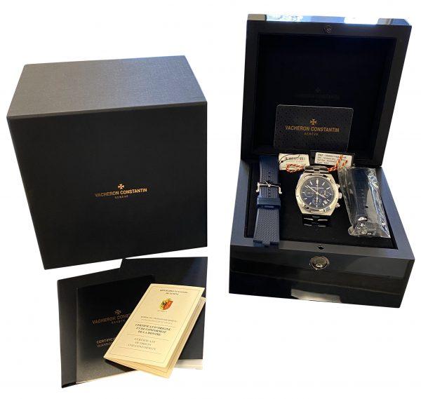 Vacheron Constantin Overseas 5500v/110a blue dial