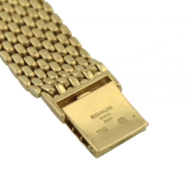 Patek Philippe 18k gold clasp