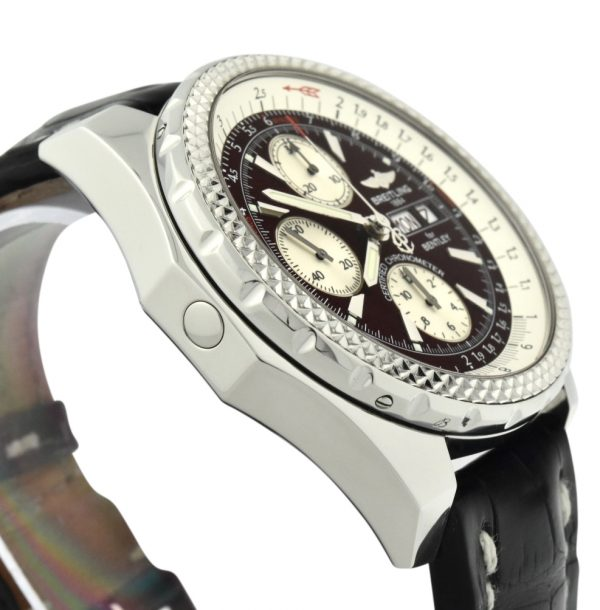 BREITLING bentley A13362 BURGUNDY DIAL