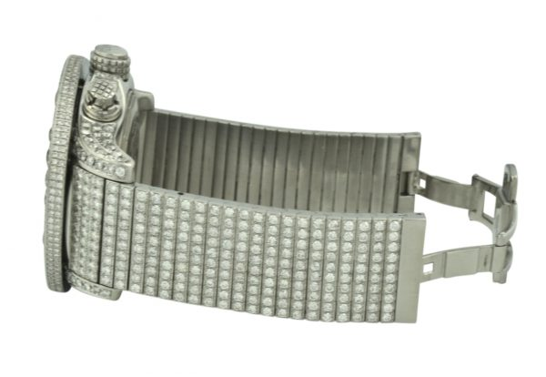 Breitling custom diamond watch band