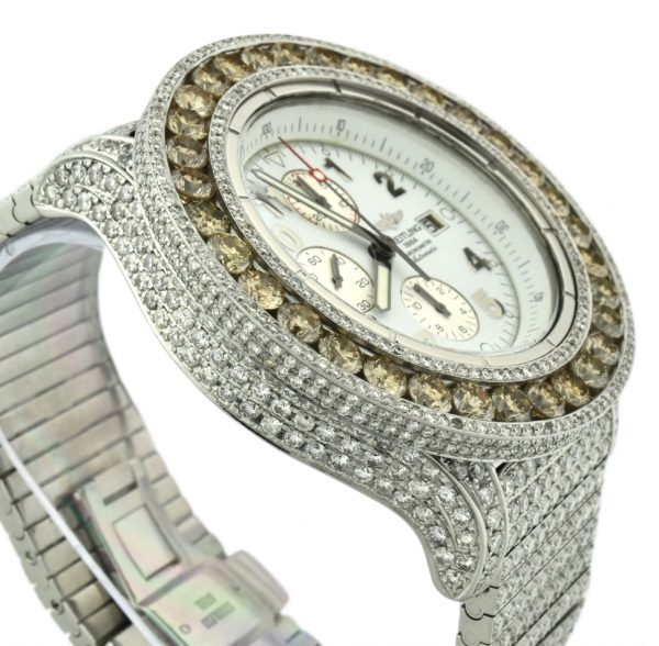 Custom Diamond Breitling Watch For Sale Atlanta