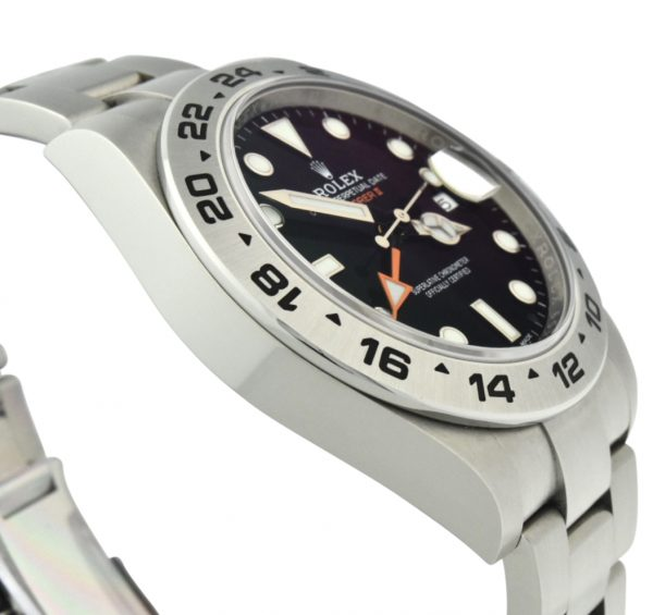 Men's Rolex Explorer II 216570 Black Dial
