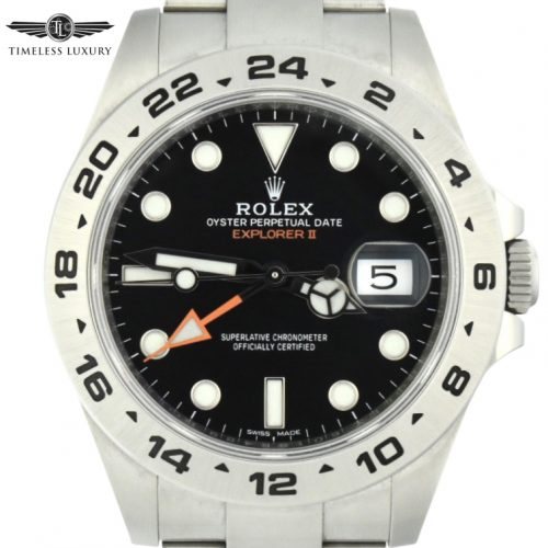 Rolex Explorer II 216570 Black Dial