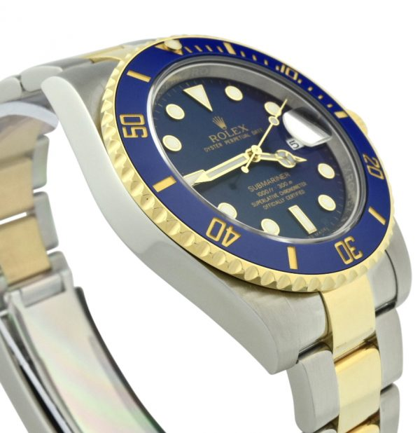 rolex submariner steel & gold 116613lb
