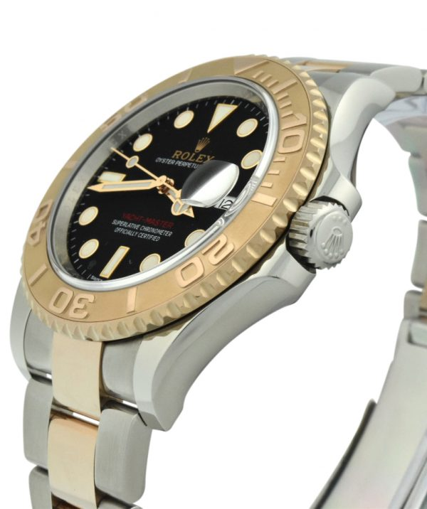 rolex yachtmaster 116621 steel & rose gold